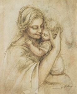 Mother&Child drawing