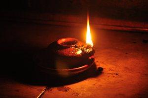 Wise Virgin Lamp